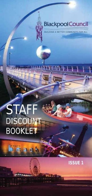Staff Discount Booklet - Blackpool Council