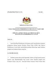 Borang Laporan Penilaian Prestasi Khas - Jabatan Perkhidmatan ...