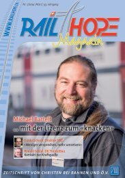 RailHope Magazin - Nr. 1/2014