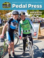safe routes to schools respecting the road - Marin County Bicycle ...