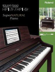 HPi-7F/HPi-6F Brochure - Roland