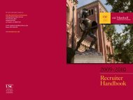 Recruiter Handbook - USC Marshall - University of Southern California