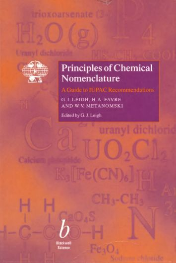 Principles of Chemical Nomenclature - International Union of Pure ...