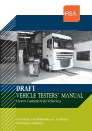 Heavy Commercial Vehicle (HCV) (PDF - Road Safety Authority