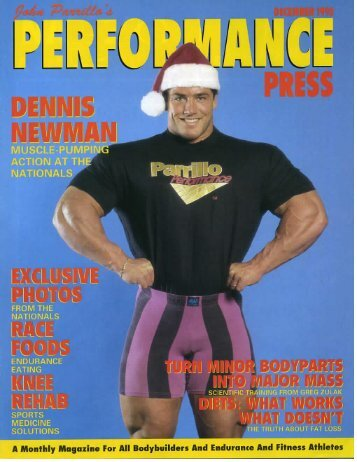 Performance Press December 1993 - Parrillo Performance
