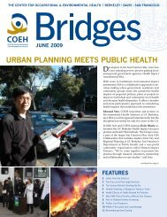 UrbaN PlaNNiNg MEEts PUblic HEaltH - Center for Occupational ...