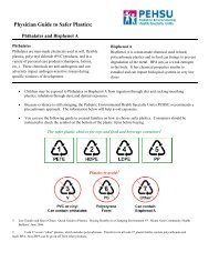 Phthalates and Bisphenol A: - Association of Occupational and ...