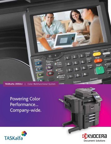 Detailed Specifications - KYOCERA Document Solutions
