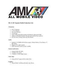 MU-11 48' Expando Mobile Production Unit - All Mobile Video