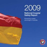2009 – National Coastal Safety Report - Surf Life Saving Australia
