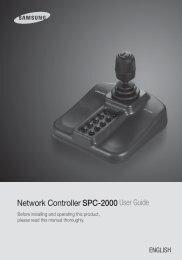 Network Controller SPC-2000 User Guide