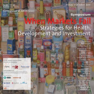 Strategies for Health, Development and Investment - Amsterdam ...