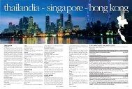 THAILANDIA SINGAPORE HONG KONG - I Viaggi dell'Airone