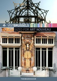 SIZED FOR ART NOUVEAU - VisitBrussels