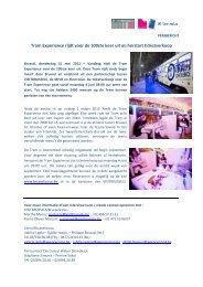 Tram Experience rijdt voor de 100ste keer uit en ... - VisitBrussels