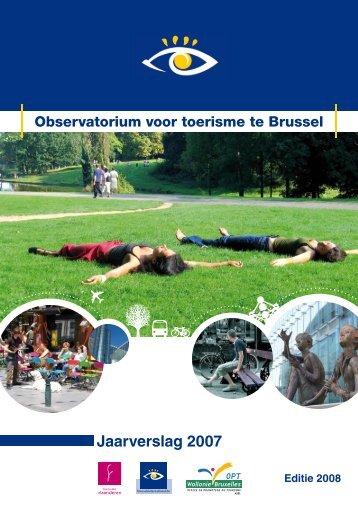Jaarverslag 2007 - VisitBrussels