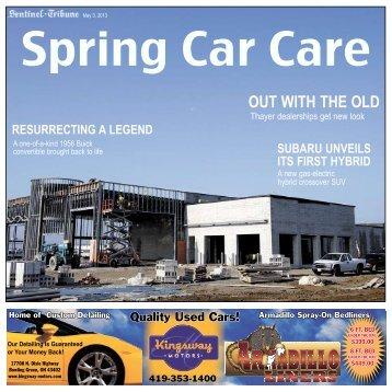 2013 Car Care - Sentinel-Tribune