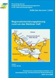 Regionalentwicklungsplanung rund um das Stettiner Haff - IKZM
