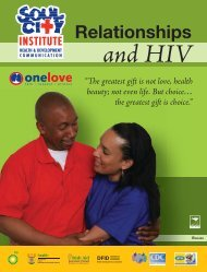 Relationships - CONCURRENT SEXUAL PARTNERSHIPS TOOLKIT