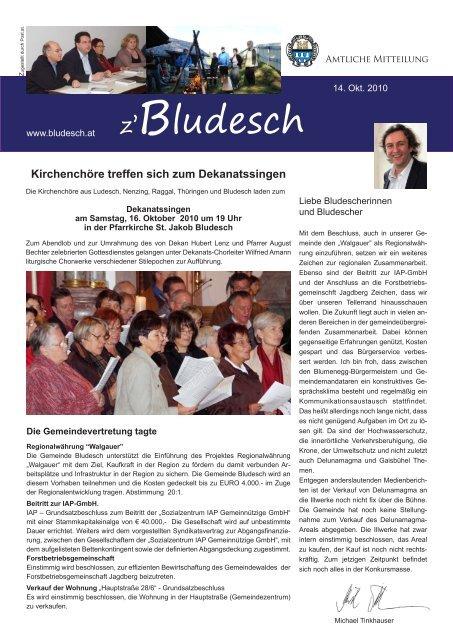 Funken | Gemeinde Bludesch