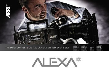 ARRI Alexa Brochure - TV Connections