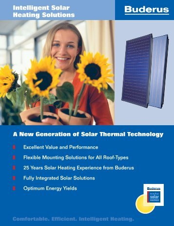 Intelligent Solar Heating Solutions - Buderus