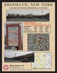 Brooklyn Georgetowne Aug 09 Leasing Plan - Welco Realty, Inc