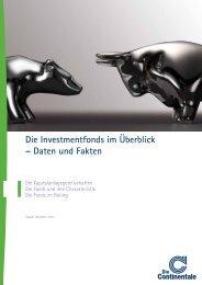 Allgemeine Fondspalette - Continentale