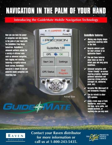 Guide Mate Flyer