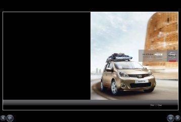 GENUINE ACCESSORIES - Nissan