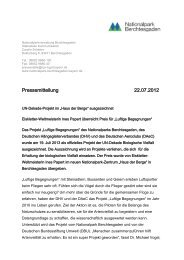 """UN-Dekade-Projekt im """"Haus der Berge"""" ausgezeichnet"""