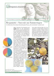 Bergamotte - Eliane Zimmermann