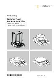 Sartorius Talent Sartorius Gem, Gold