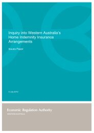 Inquiry into Western Australia's Home Indemnity Insurance ...