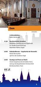 Programm der 1. Nacht der offenen Kirchen am 23. Mai 2014 in Eichstätt - Page 3