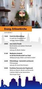 Programm der 1. Nacht der offenen Kirchen am 23. Mai 2014 in Eichstätt - Page 6