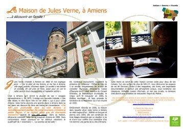La Maison de Jules Verne, à Amiens - Esprit de Picardie