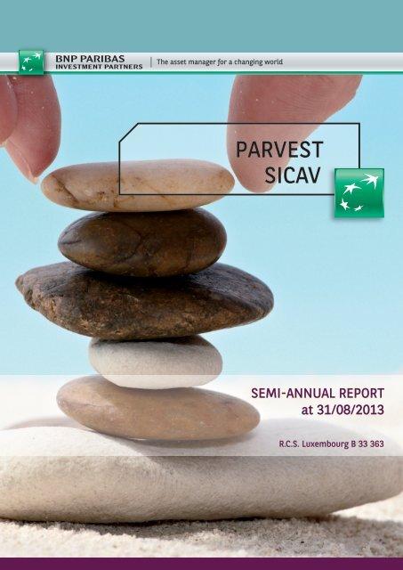 PARVEST siCaV - Fundsupermart.com