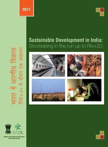 Sustainable Development in India - Rio+20