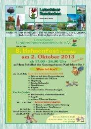Oktober 2013 - Gemeinde Letschin