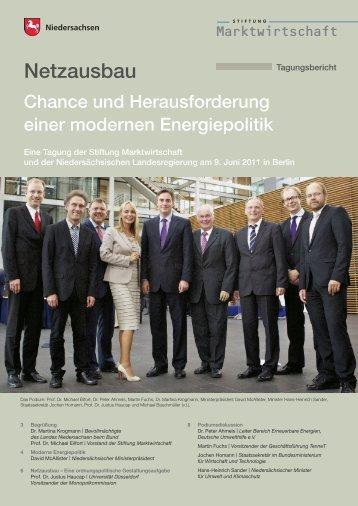 Tagungsbericht zur Netzausbauveranstaltung am 9. Juni 2011 in ...