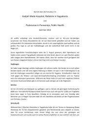 Yogyakarta 2013 - Medizinische Universität Graz