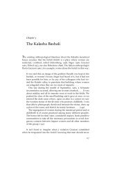 Chapter 5: The Kalasha Bashali