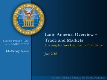Latin America Overview Trade And Markets - Los Angeles Chamber ...