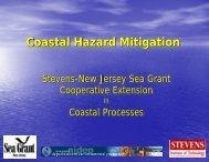 Coastal Hazards & Mitigation