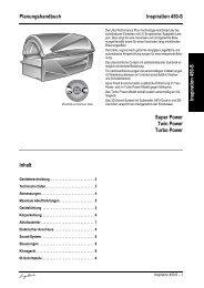 Technische Daten Ergoline Inspiration 450-S