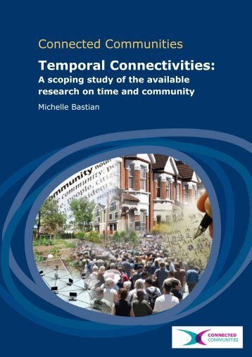 Time and Community Scoping Study Discussion Paper - CRESC