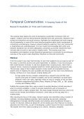 Time and Community Scoping Study Discussion Paper - CRESC - Page 4