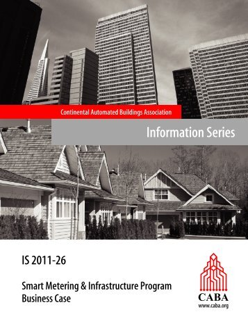 Information Series - Continental Automated Buildings Association