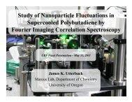 Final Presentation (PDF) - University of Oregon